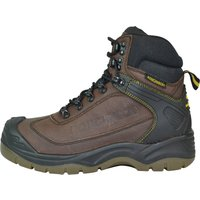 Roughneck Mens Tempest S3 Waterproof Hiker Boots Brown Size 11