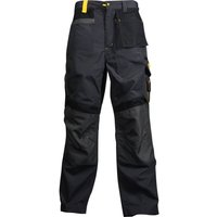 "Roughneck Mens Hide Away Holster Trousers Black 38"" 32"""