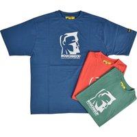 Roughneck Mens Colour Logo T Shirt Triple Pack Assorted L