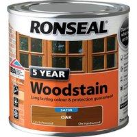 Ronseal 5 Year Woodstain Oak 250ml