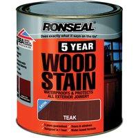 Ronseal 5 Year Woodstain Teak 250ml