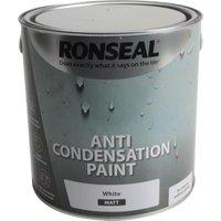 Ronseal Anti Condensation Paint White Matt 2.5l
