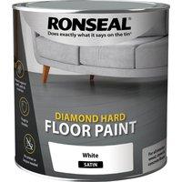 Ronseal Diamond Hard Floor Paint Tile Red 2.5l