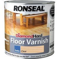Ronseal Diamond Hard Floor Varnish 2.5l Satin