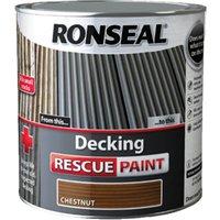 Ronseal Decking Rescue Paint Chestnut 5l