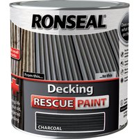 Ronseal Decking Rescue Paint Charcoal 2.5l