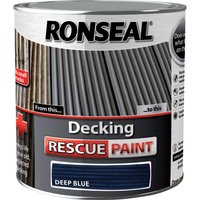 Ronseal Decking Rescue Paint Deep Blue 2.5l