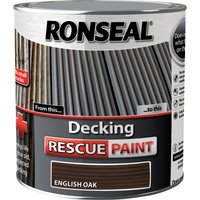 Ronseal Decking Rescue Paint English Oak 2.5l
