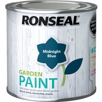 Ronseal General Purpose Garden Paint Midnight Blue 250ml