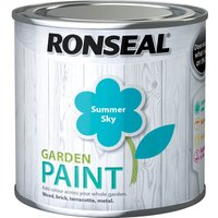 Ronseal General Purpose Garden Paint Summer Sky 250ml