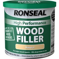 Ronseal High Performance Wood Filler Natural 1000g