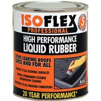 Ronseal Isoflex Liquid Rubber Black 2.1l