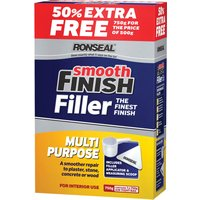 Ronseal Smooth Finish Multi Purpose Interior Wall Powder Filler 750g