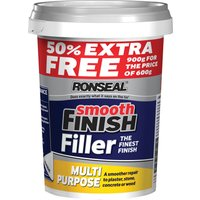 Ronseal Smooth Finish Multi Purpose Interior Wall Ready Mix Filler 900g