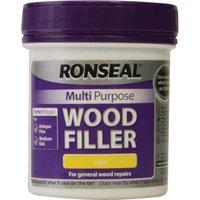 Ronseal Multi Purpose Wood Filler Tub Light 250g