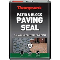 Ronseal Patio and Block Paving Wet Look Seal 5l