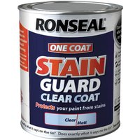 Ronseal Stain Guard Clear Matt 2.5l