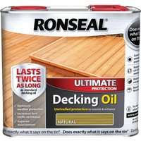 Ronseal Ultimate Protection Decking Stain Natural 5l
