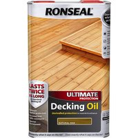 Ronseal Ultimate Protection Decking Stain Natural Oak 5l