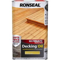 Ronseal Ultimate Protection Decking Stain Natural Pine 5l