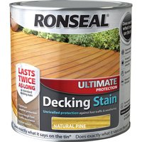 Ronseal Ultimate Protection Decking Stain Natural Pine 2.5l