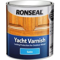 Ronseal Exterior Yacht Varnish Satin 500ml