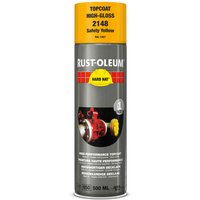 Rust Oleum Hard Hat Metal Spray Paint Safety Yellow 500ml