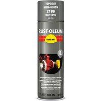 Rust Oleum Hard Hat Metal Spray Paint Navy Grey 500ml