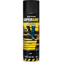 Rust Oleum Hard Hat Anti Slip Aerosol Floor Spray Paint Black 500ml