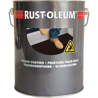 Rust Oleum Anti Slip Floor Paint Light Grey 5l