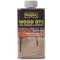 Rustins Wood Dye Brown Mahogany 250ml