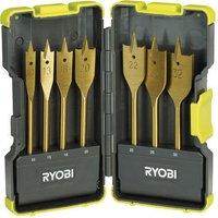 Ryobi 7 Piece Flat Wood Drill Bit Set