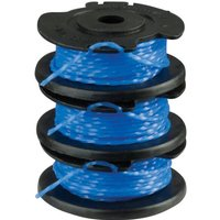 Ryobi RAC125 Spool & Line for RLT1830H13 & 1825Li Grass Trimmers Pack of 3