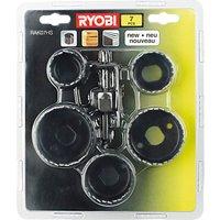 Ryobi 7 Piece Hole Saw Set