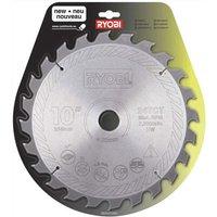Ryobi Wood Cutting Saw Blade 254mm 24T 30mm