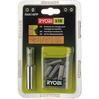 Ryobi 16 Piece Flat Pack Furniture Screwdriver Bit Set