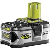 Ryobi RB18L50 ONE  18v Cordless Li ion Battery 5ah 5ah