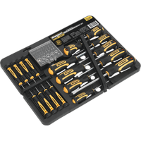 Siegen 60 Piece Screwdriver Bit Set