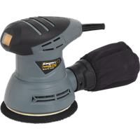 Siegen S0125 Dual Action Palm Sander 125mm 240v