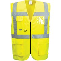 Portwest Class 2 Thermal Hi Vis Waistcoat Yellow S