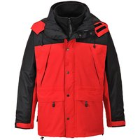 Orkney Mens 3-in-1 Breathable Jacket Red S