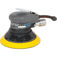 Sealey SA09 Dust Free Air Palm Orbital Disc Sander 150mm