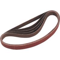 Sealey 20mm x 520mm Sanding Belt 20mm x 520mm 60g Pack of 5