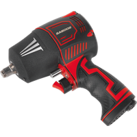 Sealey SA6006 Heavy Duty Twin Hammer Composite Air Impact Wrench 1 2  Drive