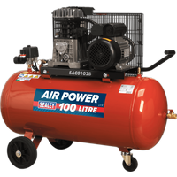 Sealey SAC0102B Air Compressor 100 Litre 240v