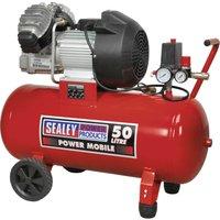 Sealey SAC05030 Air Compressor 50 Litre 240v