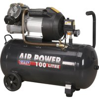 Sealey SAC10030VE Air Compressor 100 Litre 240v