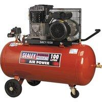 Sealey SAC1103B Air Compressor 100 Litre 240v