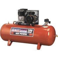 Sealey SAC1203B Air Compressor 200 Litre 240v