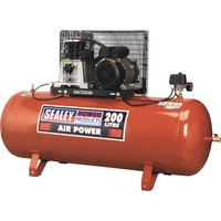 Sealey SAC2203B Air Compressor 200 Litre 240v